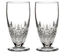 Pair of Waterford Crystal Lismore Encore Iced Tea Beverage Glasses *New in Box*