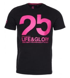 Life & Glory contrast printed graphic T shirt, Graphic Prints, Latest Trends, Contrast, Printed, Summer, T Shirt, Men, Life, Clothes