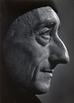 Jacques Cousteau,1972 by Yousuf Karsh