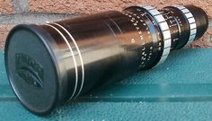 """Dallmeyer 6"""" f / 3.5 Telephoto Lens #535994 with Front Lens Cap. The thread has some damage but can be adapted. It is in a very good clean condition."""