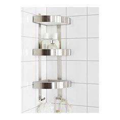 IKEA GRUNDTAL corner wall shelf unit