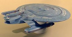 """""""Kitbashing"""" for new Star Trek ships for TNG: """"Best of Both Worlds."""""""