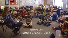 Setting long-term goals is a key part of learning to be gritty. In this Edutopia video, watch how a teacher helps her fifth graders evaluate their goals to understand the elements that make up the best ones.