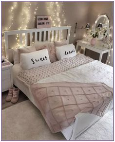 Teen Girl Bedrooms - The best teen room decor ideas. For added mind blowing teen girl bedroom decor designs simply pop to the link to wade through the post example 1249235965 right now. Cute Room Decor, Teen Room Decor, Bedroom Decor For Teen Girls Dream Rooms, Girs Bedroom Ideas, Room Decor Teenage Girl, Bedroom Diy Teenager, Girls Bedroom Decorating, Teenager Rooms, Teen Bedroom Colors