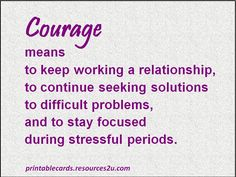 corageous women | Cards with encouraging quotes on courage sayings – 5 | Printable ...