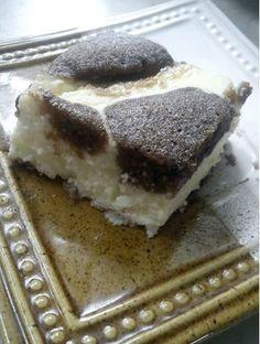 Dvojfarebný-tvarohový koláč