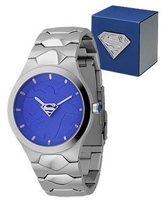 Man of Steel - A beautiful watch for those who do not want an obvious cartoony watch. This Superman watch is perfect!
