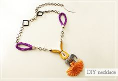 2nd Funniest Thing : DIY and unique pieces: Recycled necklace DIY