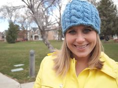 Light Sky Blue Knitted Ear Warmer Headband by KnittingWriter, $25.00