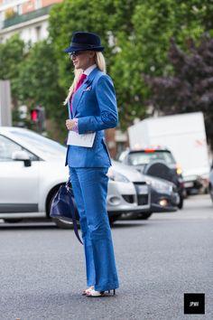 Sarah Ann Murray's menswear inspired look. Amazing.