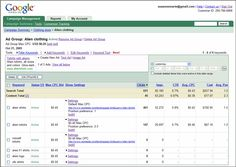 Example of a google adwords campaign settings. #SEM #google #frontrunner #emarketing