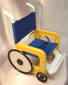 Doll's Wheelchair for Cloth Dolls & Teddy Bears