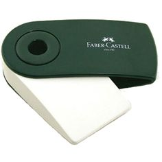Faber Castell eraser. I haven't used it myself but I have seen it compared with other erasers and it looks good, it does make a diffrence what eraser you use.
