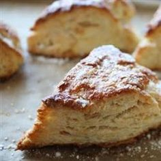 Lemon zest, lemon juice, and candied ginger flavor these scones made with brown rice flour. Gluten Free Scones, Gluten Free Baking, Gluten Free Desserts, Gluten Free Recipes, Healthier Desserts, Vegan Desserts, Rice Flour Recipes, Bread Recipes, Cookie Recipes