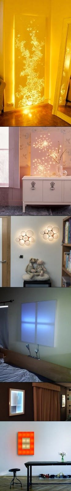 How To: Make a Glittering Lightscape...I would love to do this in a sensory room...