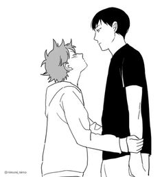 Cute Kagehina Action for y'all