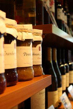 Heerlijke jam en chutney van Landgoed Marienwaerdt. www.koffieblom.nl