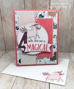 Stampin' Up! Magical Day Birthday Card for the Amy's Inkin' Krew Team Blog Hop! | Stamps – n - Lingers