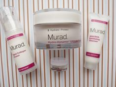 Review, Photos: 2014 Holiday Murad Celebrate Smooth Kit – AHA/BHA Exfoliating Cleanser, Rapid Collagen Infusion, Hydro-Dynamic Ultimate Moisture For Eyes, Face