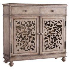 Hooker Furniture Melange Filigree 2 Drawer Hall Chest