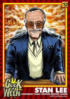 """Stan Lee """"Geek-A-Week"""" card!"""