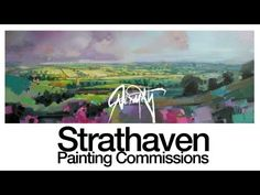 Scott Naismith commissioned painting of Strathaven #Art