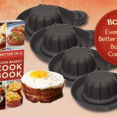 bacon bowl maker - Google Search