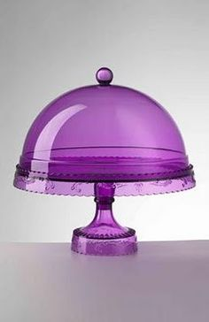 Love this Purple cake stand.