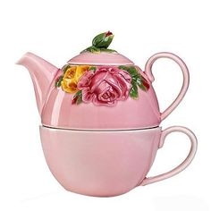 Pink Tea For One
