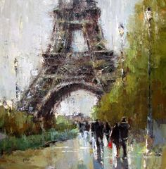 Whitehaven: Paintings of Paris by Barbara Flowers
