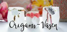 Origami Tischdekoration [Hochzeits-Inspirationen vom Team Stempelwiese] • Papier - Stoff - Leben