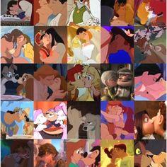 Disney kisses