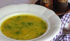 Cuketová polévka s kuskusem