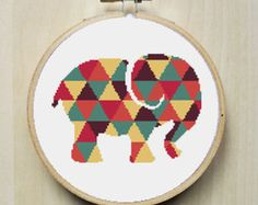 Modern Counted Cross Stitch Pattern by RhiannonsCrossStitch
