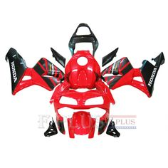 Aftermarket Fairings For Honda CBR600RR 03-04 red black ABS Kits 2003 2004
