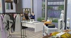 Loft, Bed, Sims, Furniture, Home Decor, Decoration Home, Stream Bed, Room Decor, Mantle