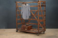 Columbia Clothiers Rolling Garment Rack : Factory 20