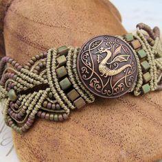 Knot Just Macrame by Sherri Stokey: Multi Wrap Macrame Bracelet Tutorial