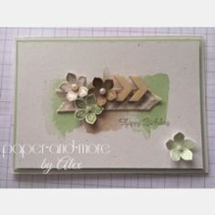 Stampin' Up!, Create a Cupcake, Happy Watercolor, Petite Petals Punch, Paper-and-More
