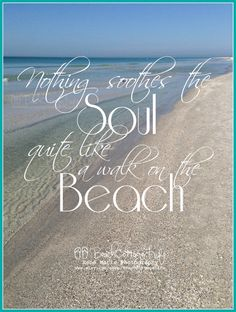 Nothing Soothes the Soul quite like a Walk on the Beach (Seagulls Seaside Seafoam Coastal Cottage Chic Wall Art Photography Bokeh Sunset) SO TRUE! the Paciifc NW Beach Walk, Beach Bum, Ocean Beach, Summer Beach, Baby Beach, Ocean City, Photography Beach, Ocean Quotes, Surf Quotes