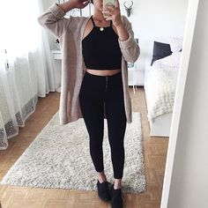 cute but with tan booties