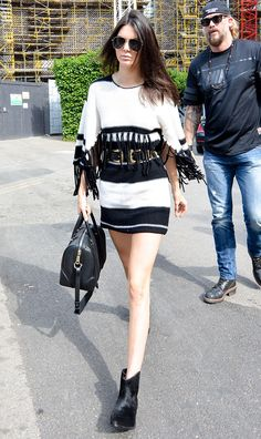 Kendall Jenner makes any road look like runway!