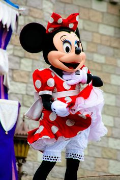 Minnie Mouse by abelle2, via Flickr