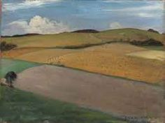 Nevinson: The Trundle at Goodwood