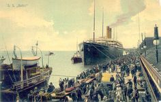 RMS Baltic landing stage, Liverpool.