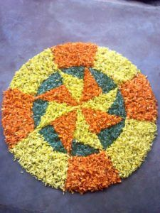 Rangoli Designs Flower, Flower Rangoli, Wallpaper Space, Wallpaper Ideas, Festival Decorations, Flower Decorations, Onam Pookalam Design, Easy Diwali Rangoli, Sanskar Bharti Rangoli Designs