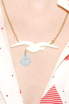 Collier Mouette - Tatty Devine