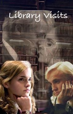 """#wattpad #fanfiction Draco Malfoy and Hermione Granger keep """"glaring"""" at each other more like staring, and what's with Malfoy keep visiting the Library each time and talking to Hermione more well there's not that much talking involved. Ron is beginning to notice and jealously is a bad thing Warning-sexually content a..."""
