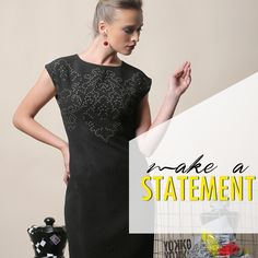 Make a Statement with the perfect dress. Fashion Prints, Glamour, Elegant, Formal Dresses, How To Make, Design, Classy, Dresses For Formal, Gowns