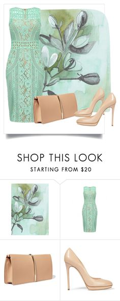 """""""Untitled #318"""" by dollie-stoudemire-mccall on Polyvore featuring Nina Ricci and Casadei"""